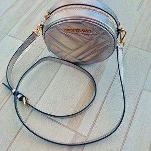 71bb06b97e6e2a Michael Kors Bags - MICHAEL KORS Gold VIVIANNE Canteen Crossbody $298